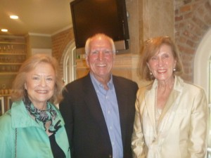 Mississippi members of the Faulkner Society Bebe and Bill Marchal are shown here with long-time Faulkner Society volunteer and patron Jeanie Clinton, a Mississippi native, who has lived in New Orleans for many years and is a past member of the Society's Executive Board.