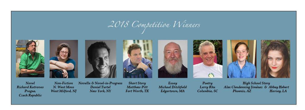 2018 Faulkner - Wisdom Competition Winners, Finalists - Faulkner Society